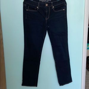 American Eagle Stretch Straight Jeans